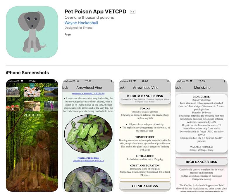 pet poison app