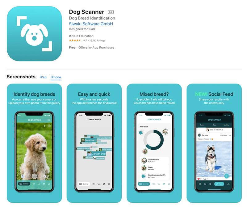 dog scanner app
