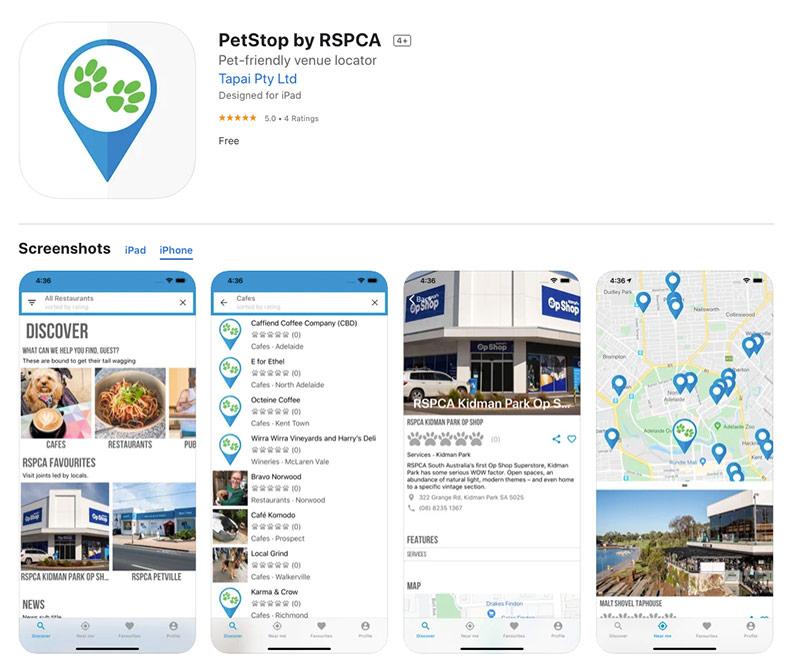 RSPCA petstop app