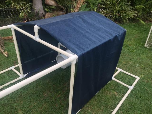 Klever Cages blue pet enclosure shade - $40.00